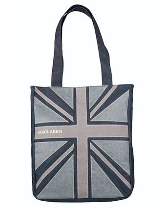 Maclaren Сумка для мамы Magazine Tote Denim Flag