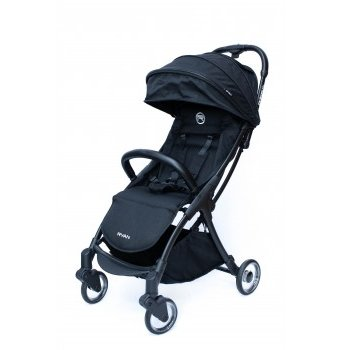Коляска Ryan Prime Lite Auto Folding Double black, черный