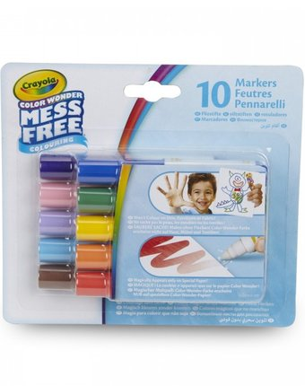 Crayola Мини-маркеры Color Wonder 10 цветов
