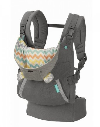 Рюкзак-кенгуру Infantino Cuddle up ergonomic hoodie carrier