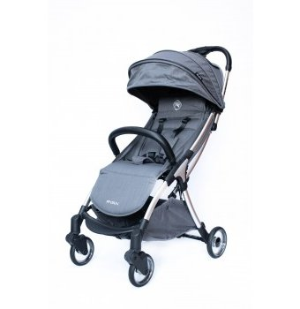 Коляска Ryan Prime Lite Auto Folding Chic gray, серый